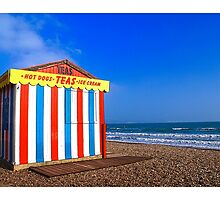 Ice cream hut by Tim Constable by Tim Constable