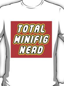 TOTAL MINIFIG NERD T-Shirt