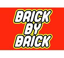 BRICK BY BRICK Photographic Print