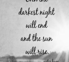 Les Miserables Sun Rise Sticker