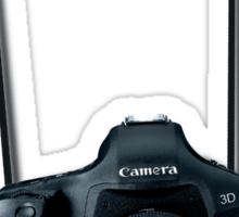 Camera shirt - for Canon users Sticker