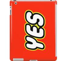 YES  iPad Case/Skin