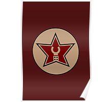 Customize My Minifig Trade Mark Logo Poster