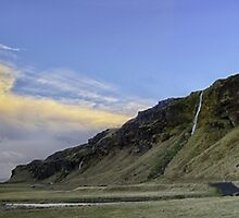 Morning at Seljalandsfoss by Cr4zy