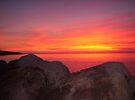 Sunset at Halls Harbour by Darlene Ruhs