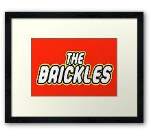 THE BRICKLES Framed Print