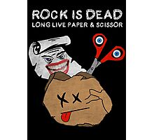 Rock Is Dead Photographic Print