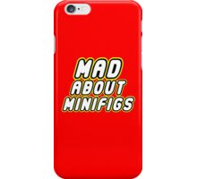 MAD ABOUT MINIFIGS, Customize My Minifig iPhone Case/Skin