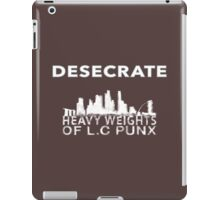 Desecrate - Lion city iPad Case/Skin