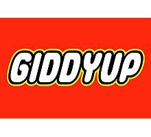 GIDDYUP Photographic Print