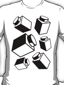 1 x 1 Bricks (AKA Falling Bricks), Customize My Minifig T-Shirt