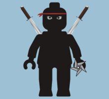 Ninja Minifig / TMNT Foot Soldier Kids Clothes