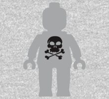 Minifig with Skull Design Kids Clothes