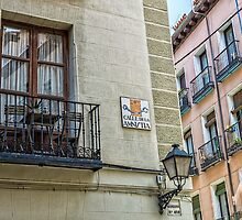 Balcony at Amnesty street in Madrid city center by JJFarquitectos