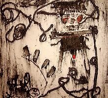 man in skirt by Joh Osborne
