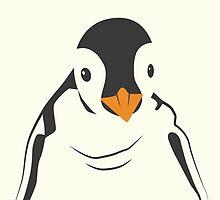 Festive Penguin by anhcreative