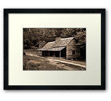 Noah 'Bud' Ogle Place Framed Print