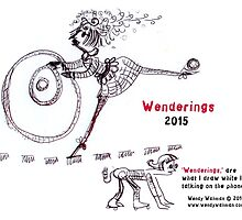 2015 Wenderings Calendar by Wendy Wahman
