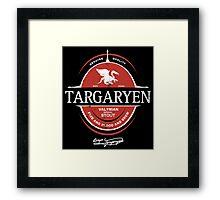 Targaryen Imperial Stout Framed Print