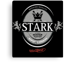 Stark Winter Porter Canvas Print