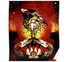 feu d' enfer Poster