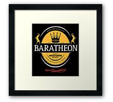Baratheon Stout Framed Print