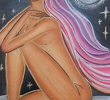 Nude In Moonlight by vivianne