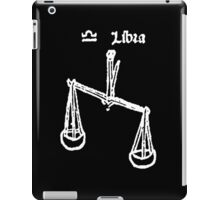 Signs of the Zodiac, LIBRA, The Scales, Horoscope, Birth sign iPad Case/Skin