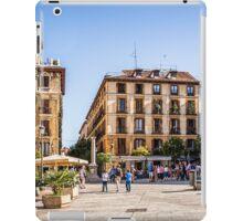 Ramales Square in Madrid iPad Case/Skin