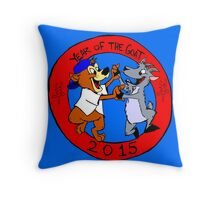 chicago's year of the goat  Throw Pillow