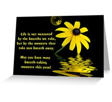 Breath-Taking Moments Greeting Card