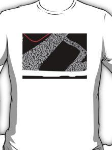 Made in China SB x Superme Black/Cement - Pop Art, Sneaker Art, Minimal T-Shirt