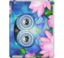 Owl in Lotus Pond iPad Case/Skin