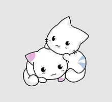 Kitty Hugs by solnoirstudios