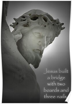 Jesus Built a Bridge . . . by Bonnie T.  Barry