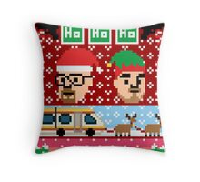 Breaking Christmas - Ugly Christmas Sweater Throw Pillow