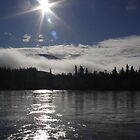 Yukon River Sunrise by Crokus Label