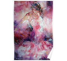 Absorbed In Dance - Dancers Art Gallery Poster