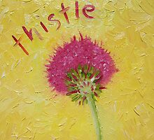 Thistle by Jane Whittred