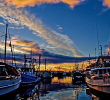 Hobart Docks by Kelly McGill