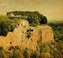 Sanctuary-Castel Sant Elia-Italy by Deborah Downes