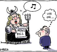 The Fat Lady Sings... by Jon Kudelka