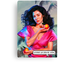 """Marina and the Diamonds - FROOT/Living la dolce vita"" Canvas Print"
