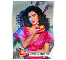 """""""Marina and the Diamonds - FROOT/Living la dolce vita"""" Poster"""