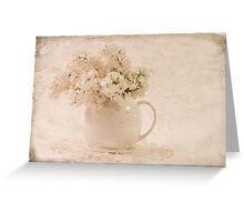 A Jug Of Lilacs Greeting Card