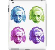 Albert Einstein - Theoretical Physicist - Rainbow iPad Case/Skin