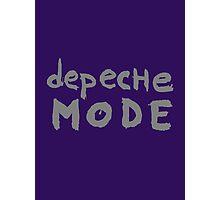 Depeche Mode : I Feel You font - grey Photographic Print