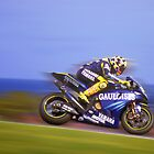 Rossi wins again. Phillip Island Oct 2004 by Mark Higgins