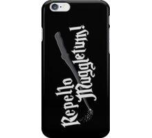 Repello Muggletum - 2 iPhone Case/Skin