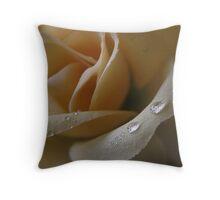 Cloth Rose Throw Pillow